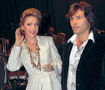 Віталій Борисюк та Ольга Сумська
